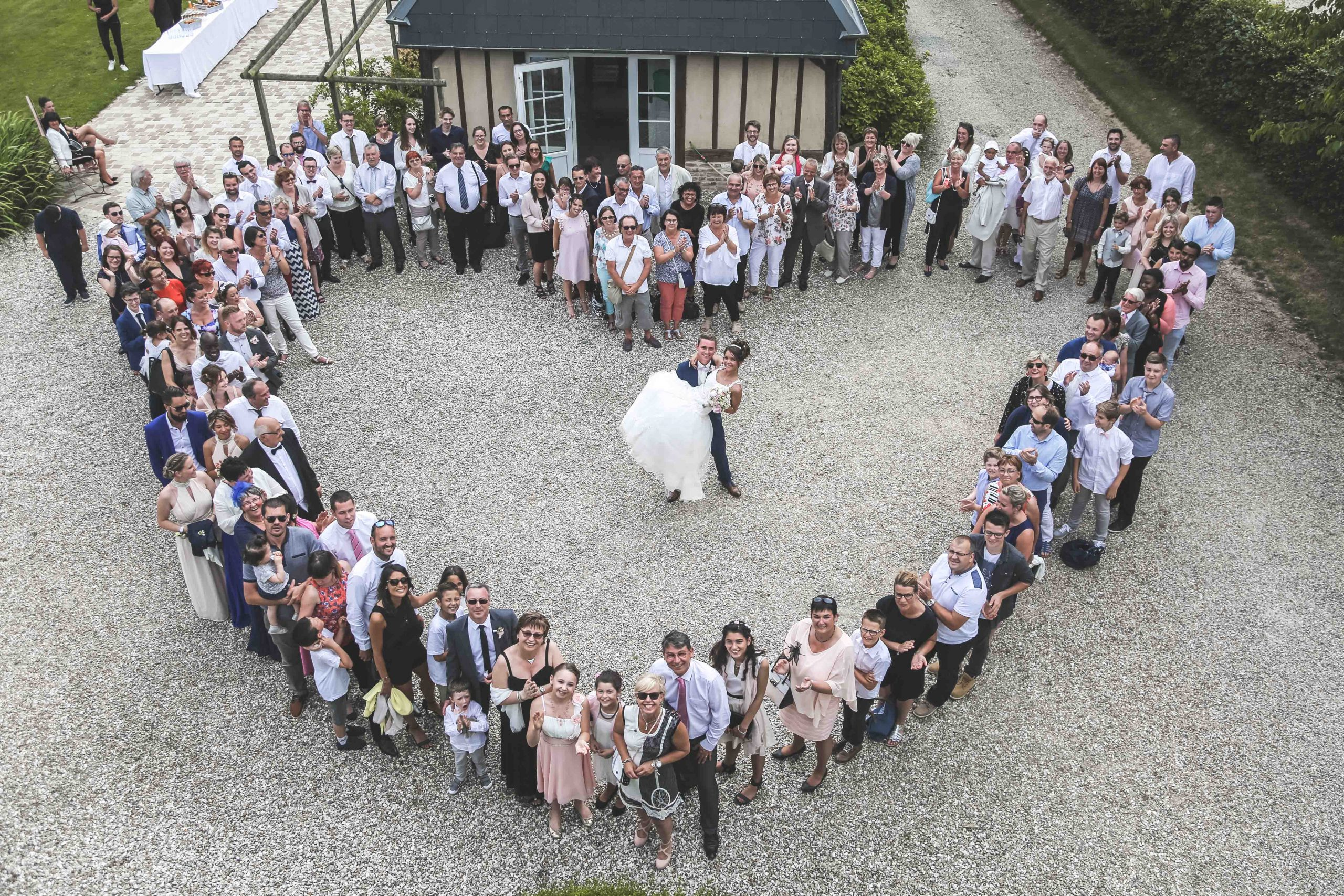 photographe mariage drumare coeur